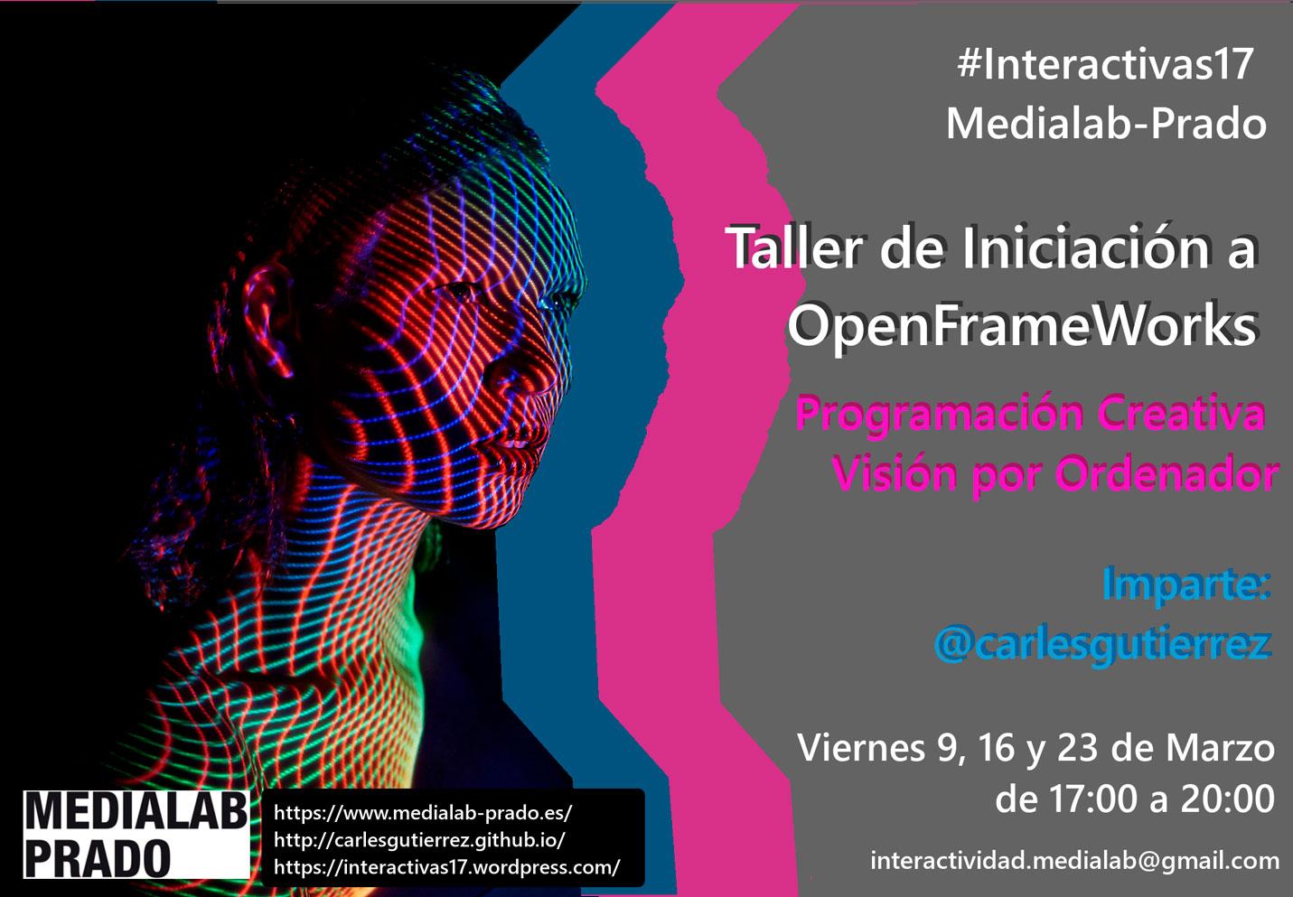 Taller de Iniciación a OpenFrameWorks