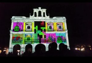 Final Tetris Video Mapping Interactivas Salamanca Luz y Vanguardias