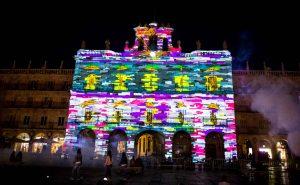 Caos Digital interactivas Luz y Vanguardas Salamanca VideoMapping Festilval