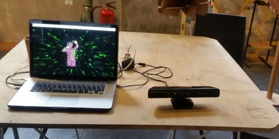Kinect processing matrix interactivas medialab prado madrid